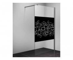 Duschtrennwand Seitenwand italienische Dusche PAULINA II - 120x190 cm