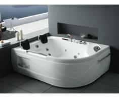 LED-Whirlpool Eckwanne Odyssea - 2 Personen - 433 L
