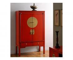 Kleiderschrank chinesischer Hochzeitsschrank Nantong - Rot