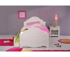 Sparset Alice: Nachttisch & Kinderbett mit Schublade Alice Wendy - 90x200cm