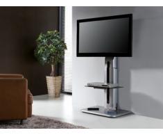 TV-Möbel Cinetique mit Flatscreen-Halterung - Silber