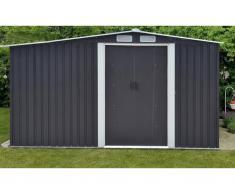 Gerätehaus Gartenhaus LERY - Stahl - 10,5m²