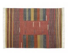 Kelim-Teppich handgewebt ARYA - Wolle - 160x230cm