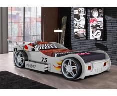 Kinderbett RUNNER + Lattenrost - 90x200cm - Weiß