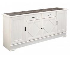 Sideboard MAELIS - 4 Türen & 2 Schubladen