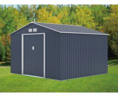 Gerätehaus Metall Maxita II - 9,3m² - Grau