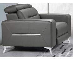 Relaxsessel Fernsehsessel elektrisch PAULY - Leder - Anthrazit