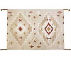 Kelim-Teppich handgewebt KIAN - Wolle - 200x290cm