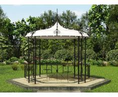 Gartenpavillon Metall TILCARA - D300xH290cm
