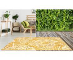 Teppich Indoor & Outdoor CURITIBA - 200 x 290 cm - Gelb