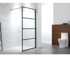 Duschtrennwand Seitenwand italienische Dusche INAYA - 140x200 cm