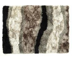 Hochflor-Teppich Ecume - Brauntöne - 200x290cm