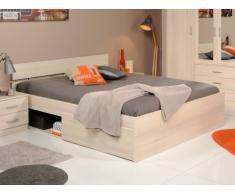 PARISOT Bett mit Stauraum INFINITY Bruno - 160 x 200 cm - Holzfarben