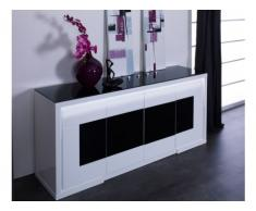 Sideboard Design Hochglanz LED Kibo