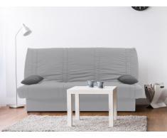 Schlafsofa Klappsofa mit Bettkasten FARWEST II - 100% Baumwolle - Grau