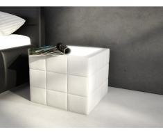 Tisch Sitzhocker LED Elyo - Weiß