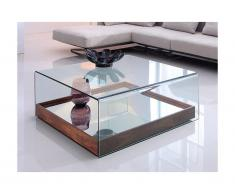 Couchtisch Glas mit Spiegel ADELIA