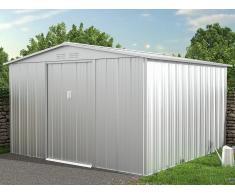 Gartenhaus Gerätehaus LINUS - Stahl - 9,92 m²