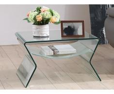 Beistelltisch Glas Sierra