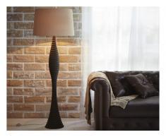 Stehlampe Holz ELDIR - Höhe: 157 cm