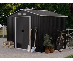 Gerätehaus Gartenhaus MANSO - Stahl - 5,2 m²