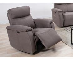 Relaxsessel Fernsehsessel elektrisch HENEL - Stoff - Grau