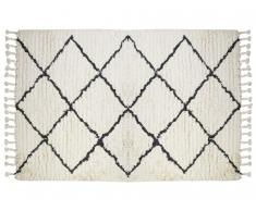 Teppich MARCUS - 100% Baumwolle - 120x170 cm