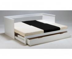 Bett mit Bettkasten Alfio - Ausziehbar - 90x190cm
