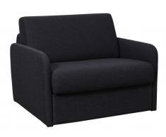 Schlafsessel mit Matratze NADOA - Breite 100cm - Grau