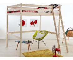 Hochbett Massivholz Gedeon - 140x190cm - ohne Schreibtisch