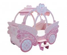 Prinzessin Bett Kinderbett Rose - 90x190cm