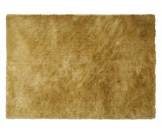 Hochflor-Teppich GLITTER - Goldfarben - 120x170cm