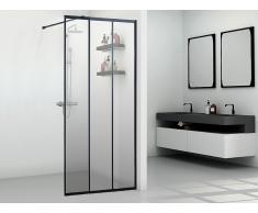 Duschtrennwand Seitenwand italienische Dusche ATALIA - 90 x 200 cm