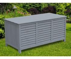 Garten Aufbewahrungsbox LUPIN - Holz - Grau