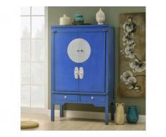 Kleiderschrank chinesischer Hochzeitsschrank Nantong - Blau