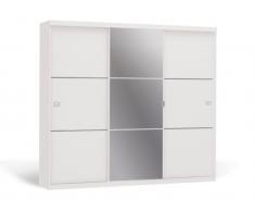 Kleiderschrank Spiegel Valmar - 3 Schiebetüren