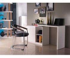 Schreibtisch Hochglanz Pavel - Schwenkbar