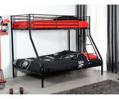 SALE - Etagenbett Elevatio III - 90x190 / 140x190 - Schwarz