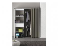 Kleiderschrank Kleiderschranksystem Kylian - Grau & Weiß