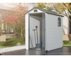 Gerätehaus Gartenhaus CESIO - Kunstharz - 2,57 m²