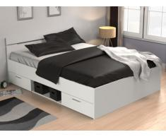Bett mit Stauraum Gaspard - 140x190cm