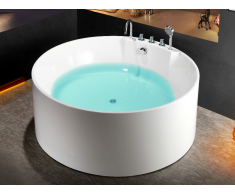 Freistehende Badewanne LINDA - 373 L