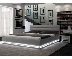 Polsterbett LED Nubis - 160x200 cm