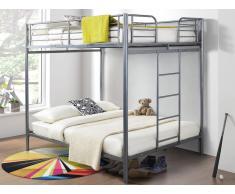 Set Etagenbett mit Bettboden GEMINI II - 2x140x190cm