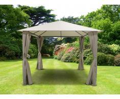 Gartenpavillon POSADAS - L300xB300xH265cm