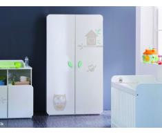 Kinderkleiderschrank Pipou - 2 Türen