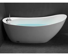 Freistehende Badewanne NATALIA - 220 L - Weiß
