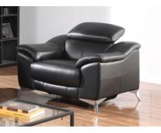 Relaxsessel Fernsehsessel elektrisch DALOA - Schwarz