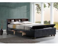 SALE - Bett mit Stauraum SAVENI - 140x190cm