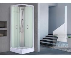 Duschkabine Eckdusche HERA - Glas - 80x80x215cm